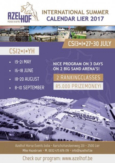 schedule CSI2*1*YH LIER 19-21 MAY