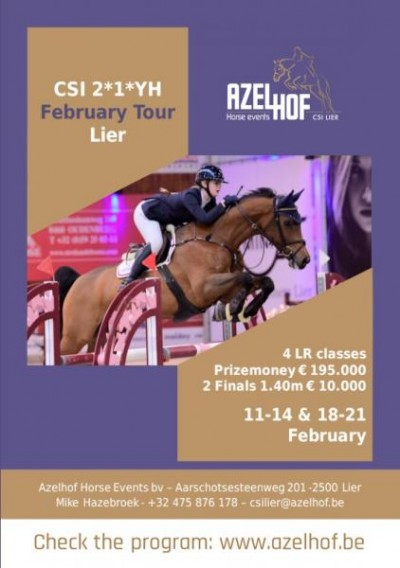 FEBRUARY TOUR CSI2*1*YH LIER 11-21 february