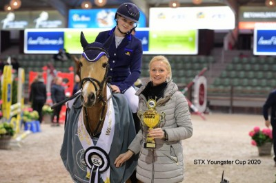 Orchid's Emmelui wint STX Youngsters Cup 4-jarigen